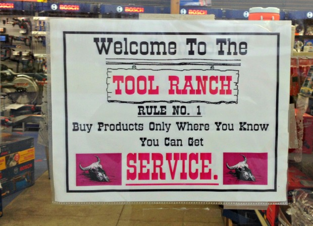 Service Center The Tool Ranch